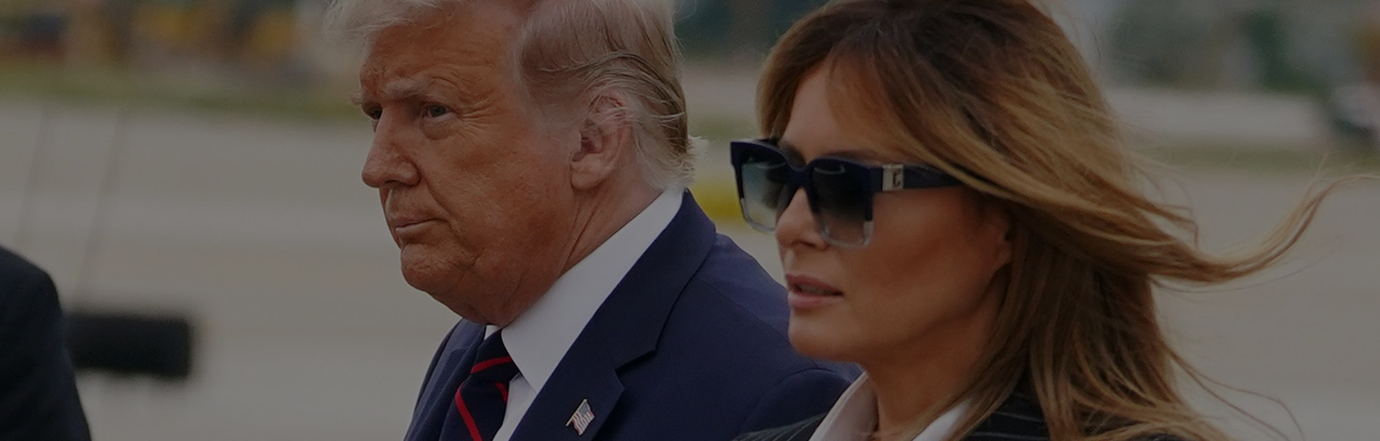 President Trump and the First Lady.