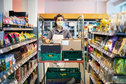 Be kind to grocery store workers right now, they've been through so much during the pandemic.