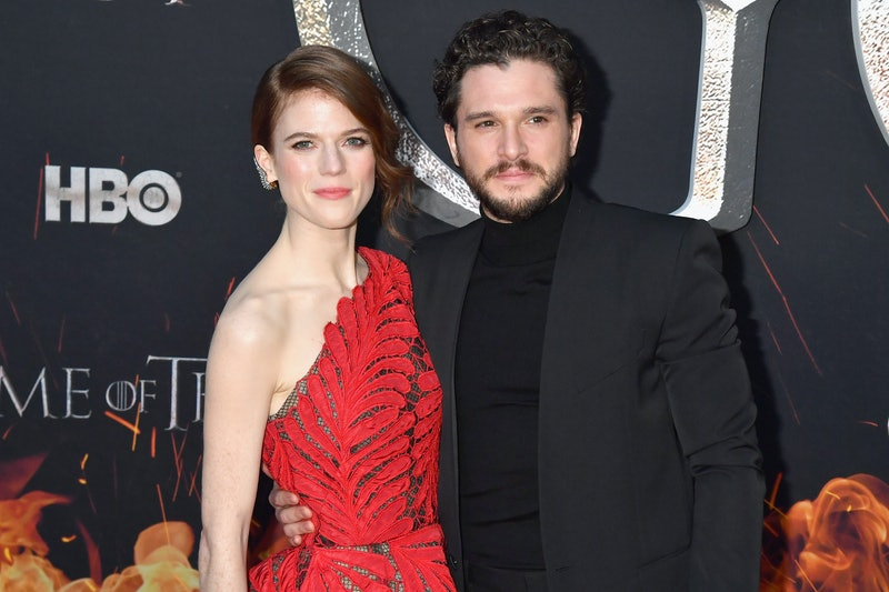 Rose Leslie revealed that she accidentally ruined Kit Harington's hair while cutting it during quarantine.
