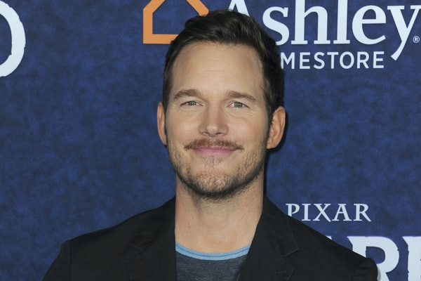 Chris Pratt attends an event for Pixar.