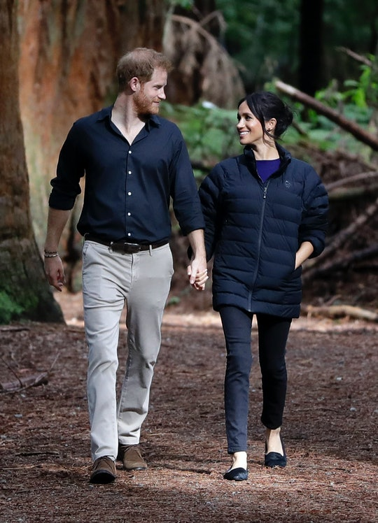 "In an interview with ""Time"" magazine's CEO, Meghan Markle and Prince Harry discussed how they're embracing the extra time they're getting to spend with Archie as a result of the coronavirus pandemic."