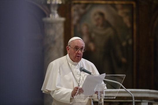 Pope Francis endorsed same-sex civil unions in a documentary that premiered Wednesday, suggesting a shift in the Church's support for LGBTQ families.