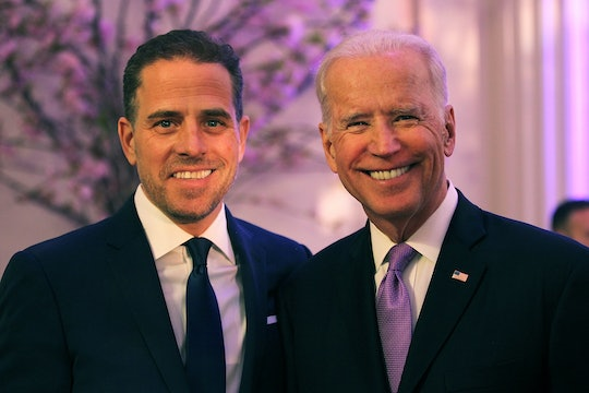 A photo of Joe Biden kissing his son Hunter is a reminder that dads need to show their sons affection.