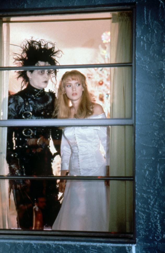 Johnny Depp stars in 'Edward Scissorhands.'