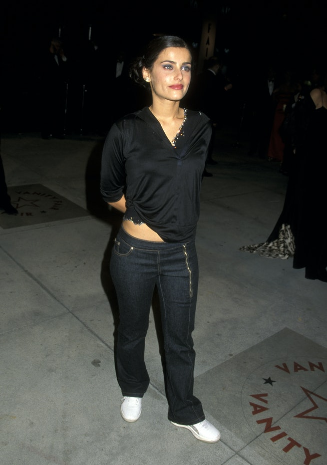 Nelly Furtado at the 2001 Vanity Fair Oscar Party.
