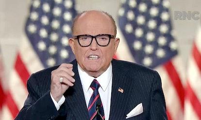 Former New York City mayor Rudy Giuliani.