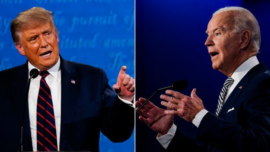 May President Donald Trump and former Vice President Joe Biden 's final debate be the last time women are excluded from this debate stage.