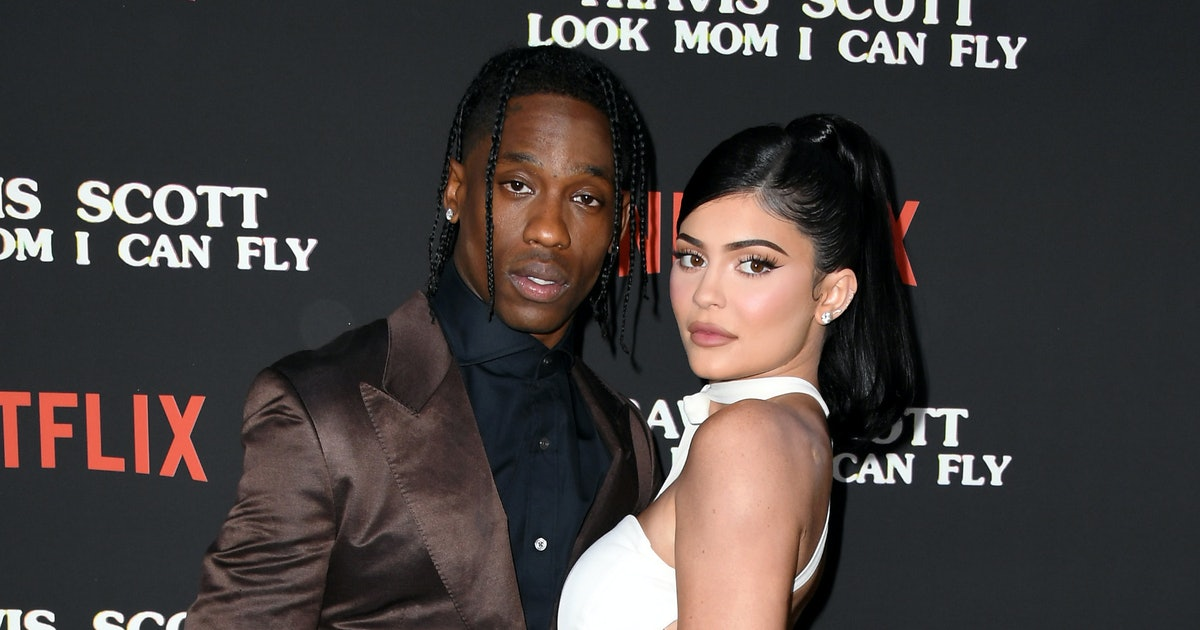 Kylie Finally Explained The Meaning Behind Her & Travis' Matching Butterfly Tattoos