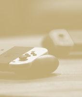 Nintendo Joy-Con controllers.
