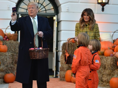 The White House will welcome trick-or-treaters this year.