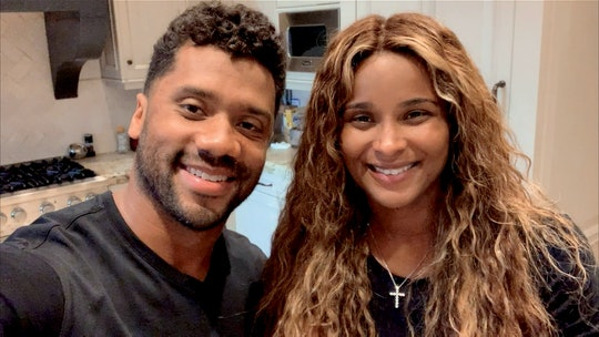 Ciara and Russell Wilson celebrate Halloween with the kids safely at home this year.
