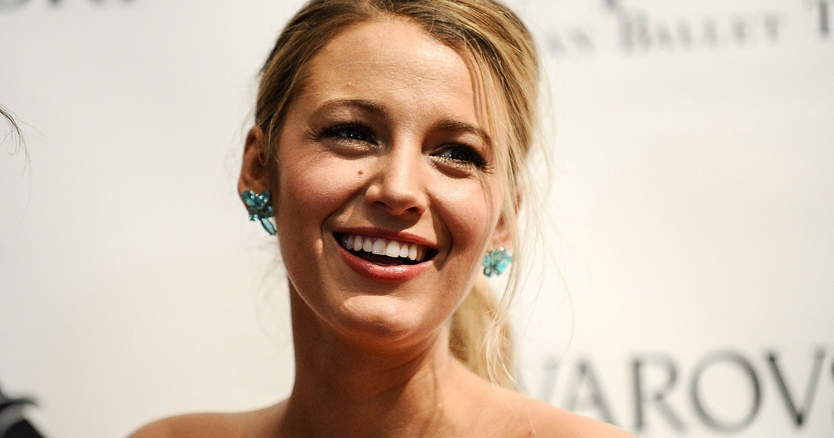 Blake Lively Drew Heels On Her Feet On An IG Post & Everyone Is Shook