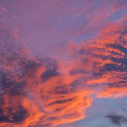 A pink cloud at sunset. Deja Revé is Deja Vu's far more surreal cousin, as an expert explains