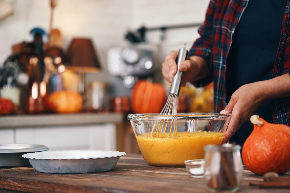 Pumpkin is a great source of nutrients in the winter.