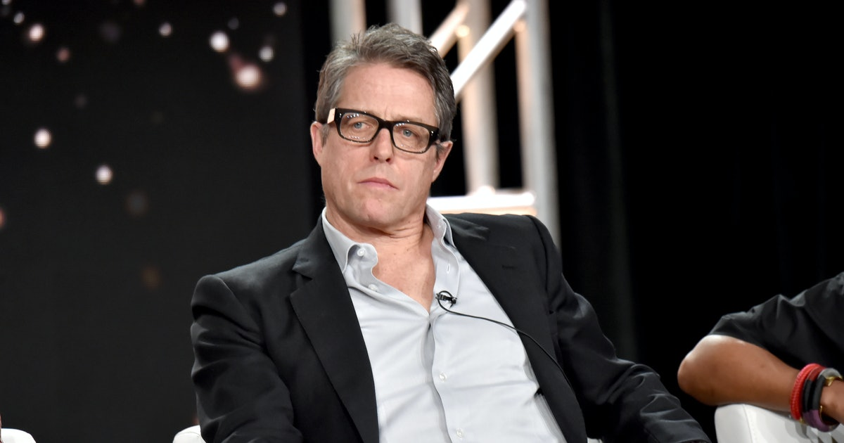 Hugh Grant Watches Your Nan's Favourite TV Show To Unwind After Filming