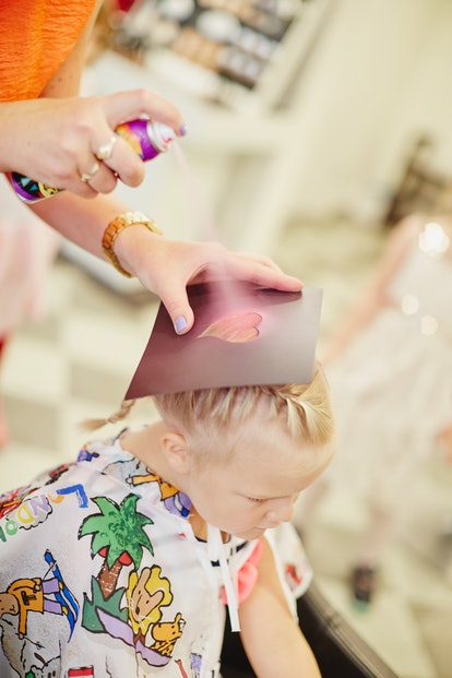 When it comes to colored hair spray, you'll want to weigh your options before using it on your child.