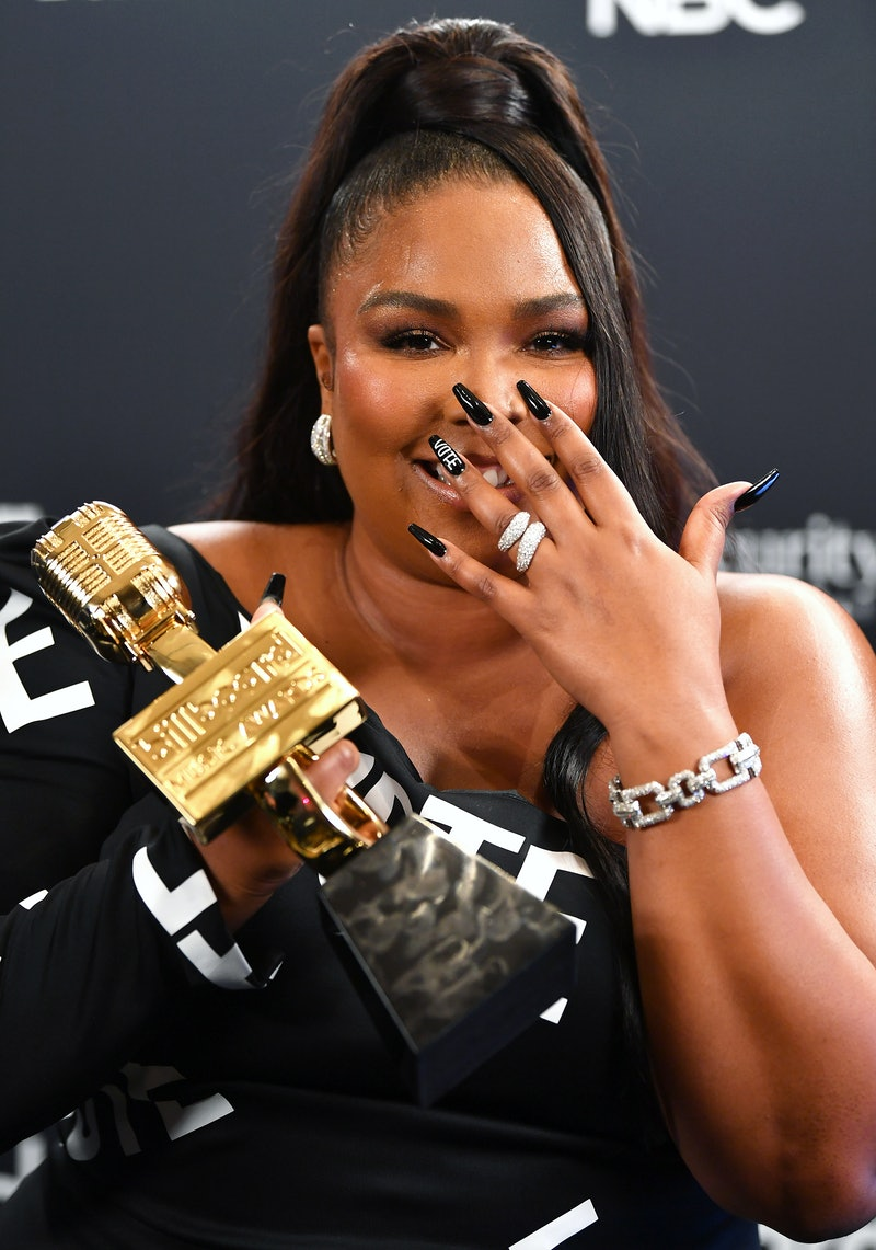 Lizzo's red hair is a new look for the star.
