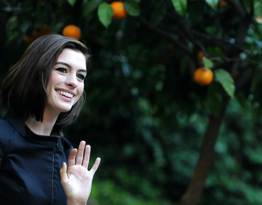 During an appearance on 'Live with Kelly and Ryan', Anne Hathaway revealed that she was pregnant while filming 'The Witches.'