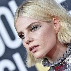 Lucy Boynton has had a long history of incredible eye makeup looks.