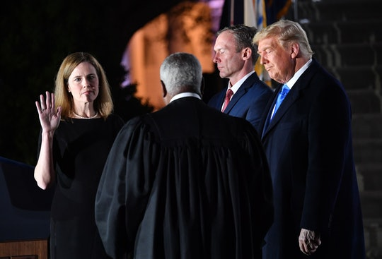 After being sworn in as the 115th Supreme Court justice, Amy Coney Barrett is set to hear her first abortion case as a member of SCOTUS later this week.