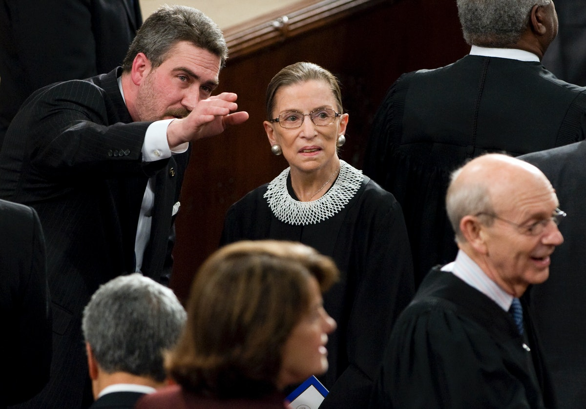 Ruth Bader Ginsburg costumes are an easy way to pay homage to the late Supreme Court justice.