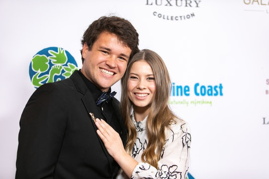 Bindi Irwin shared a new photo of her pregnancy bump on Tuesday and revealed that she is getting closer to her due date.
