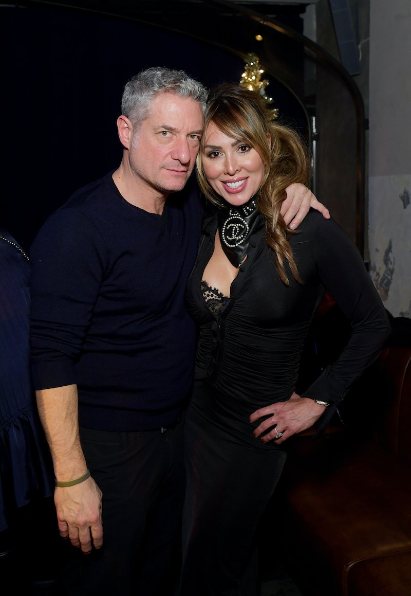 'RHOC' star Kelly Dodd & husband Rick Leventhal at an NYC event in Dec. 2019