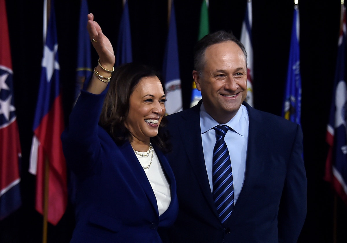 Doug Emhoff's Election Day message to Kamala Harris is the sweetest note.