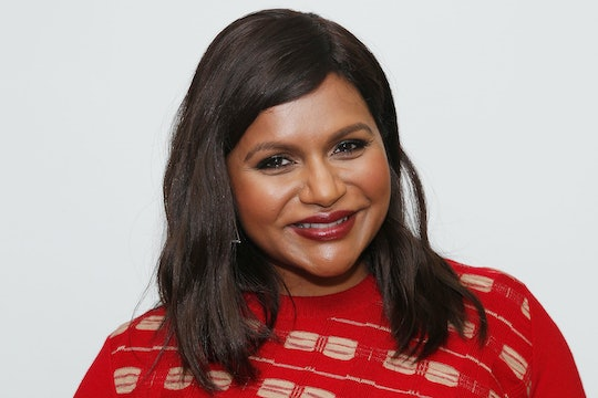 Mindy Kaling shared a super festive fall themed photo of her 2-year-old daughter, Katherine.