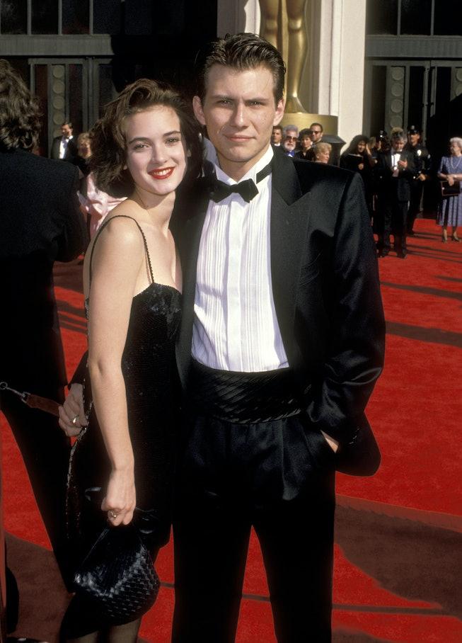 Winona Ryder at the 1989 Oscars.