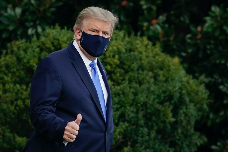 Donald Trump revealed he'd tested positive for coronavirus early Oct. 2.