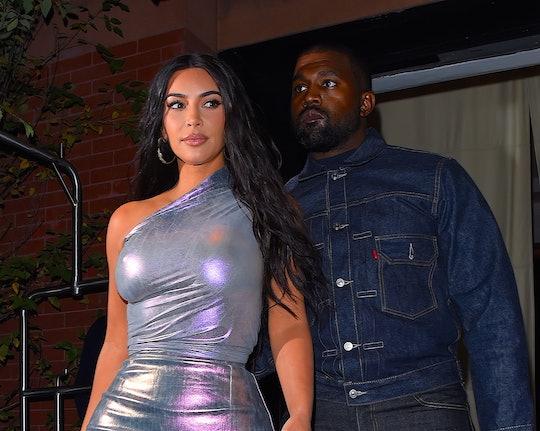 Kanye West gave Kim Kardashian a hologram of her late dad, Robert Kardashian Sr., for her birthday.