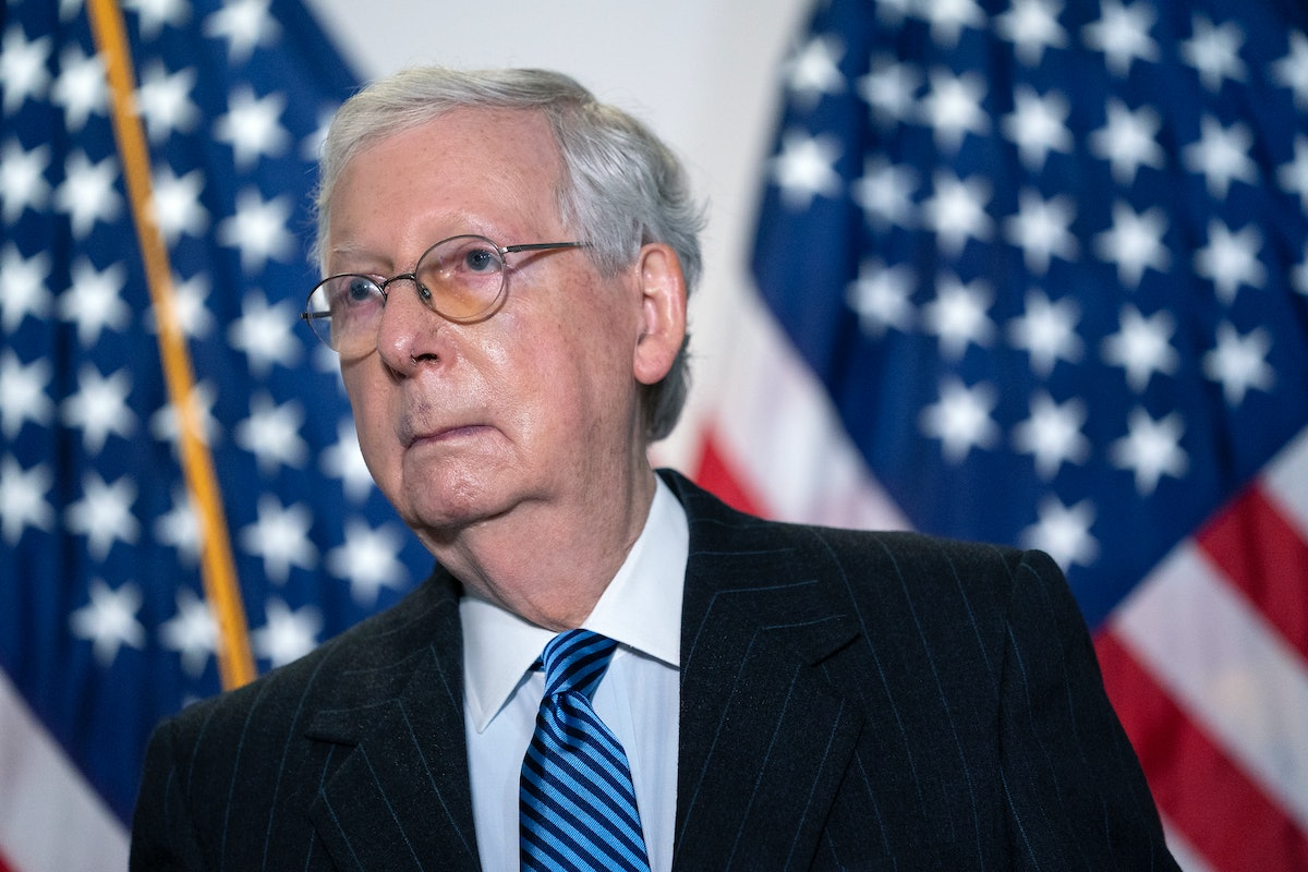 These tweets about Mitch McConnell winning re-election are all SO upset.