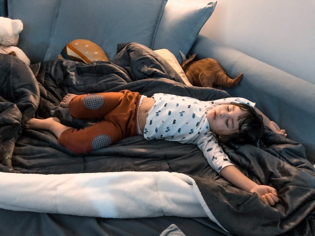 The light and time change can throw off a child's sleeping schedule.