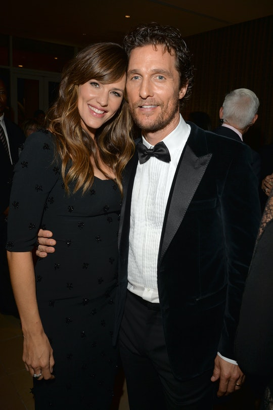 Jennifer Garner revealed how Matthew McConaughey supported her when she was pumping on the set of a ...