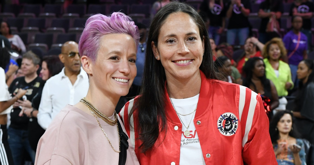 Megan Rapinoe & Sue Bird Announced Their Engagement With A Sweet Proposal Photo