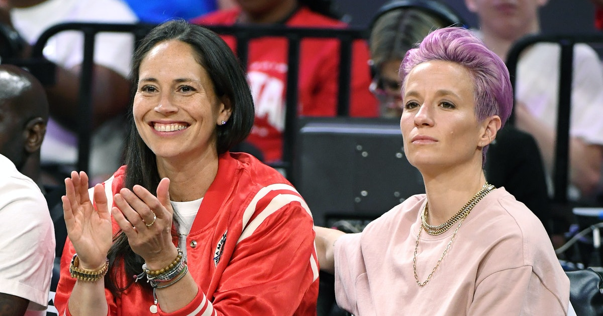 Megan Rapinoe & Sue Bird Revealed They're Engaged On IG & The Pic Is Breathtaking