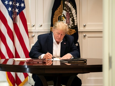 On Monday, President Donald Trump revealed plans to leave the hospital following a three-day stay for COVID-19 and urged people not to fear the virus.