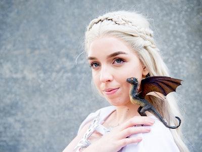 Halloween Costumes For Platinum Blonde Hair: Daenerys from GOT