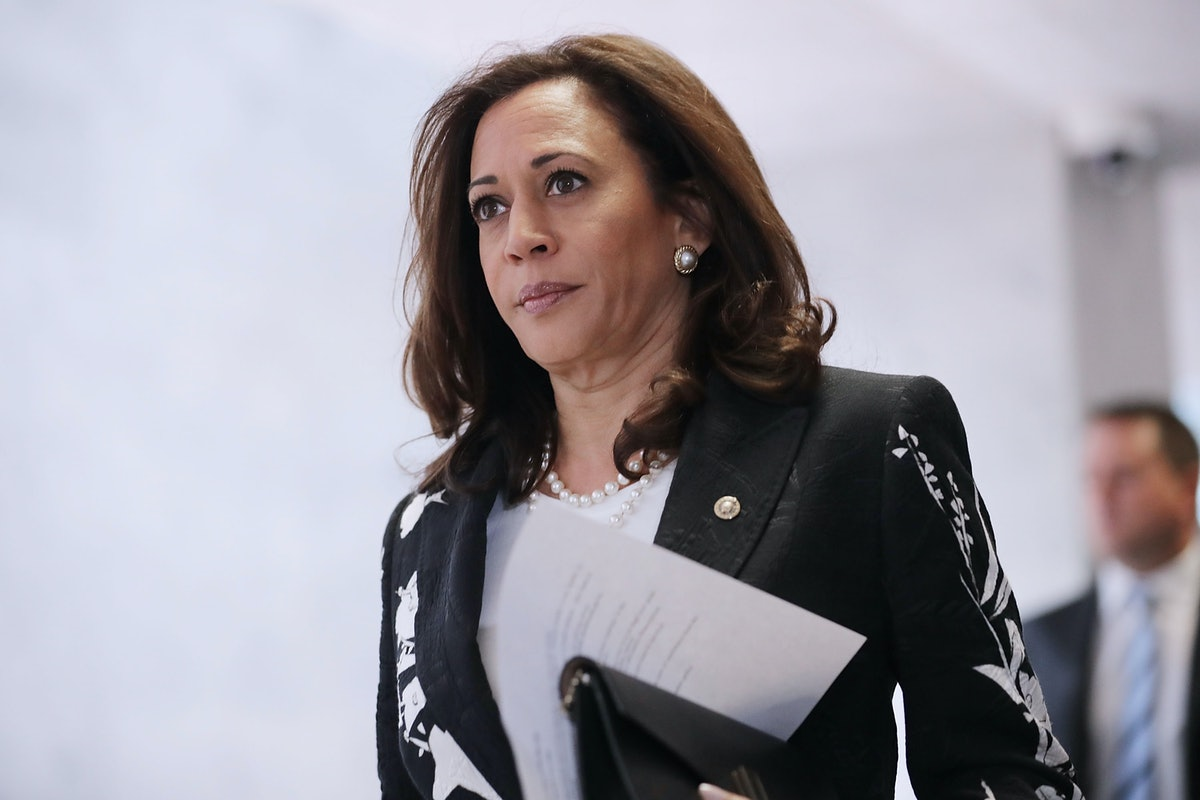 Mike Pence has illustrated an ideological divide with Kamala Harris.