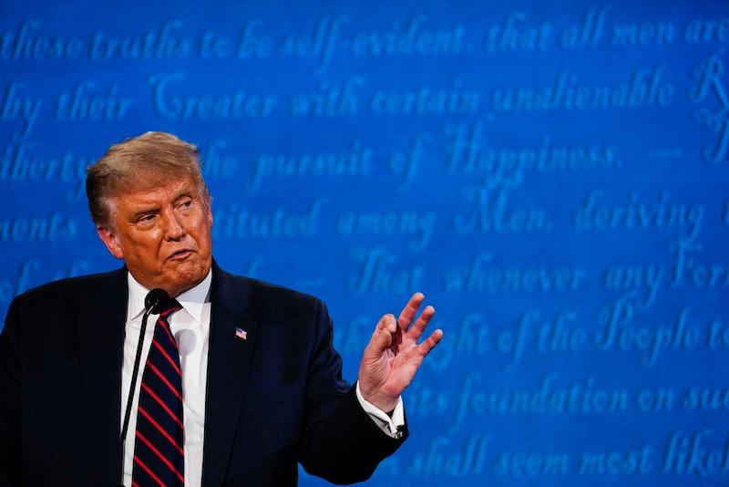 "President Trump says he won't participate in a ""virtual"" debate against Joe Biden"