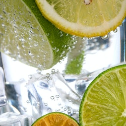 A soda with lemons and limes in it. Doctors reveal what alcohol is the most dehydrating.