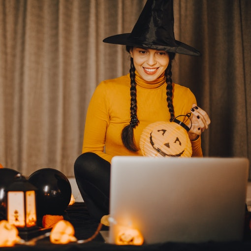 Here's how to host a Zoom Halloween party for a safe celebration.