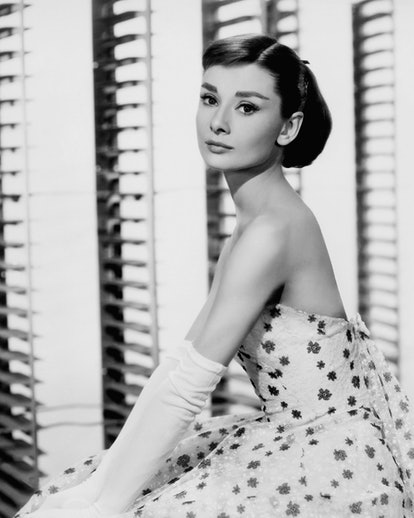 Audrey Hepburn was known for her iconic hairstyles.