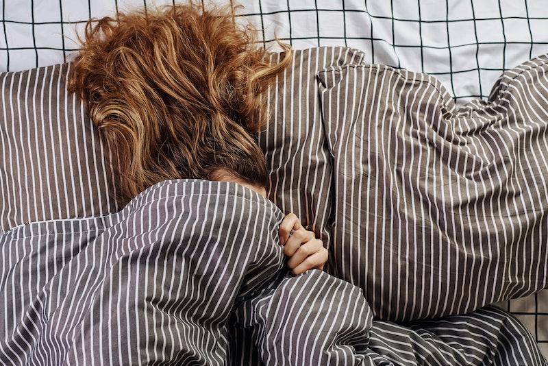 bed, sleepy, bedsheets