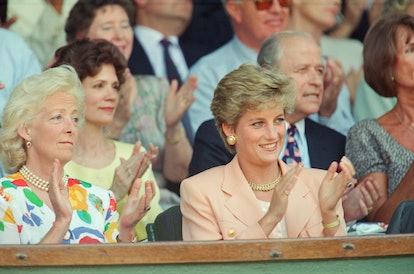 Princess Diana Engagement Ring Mother Frances