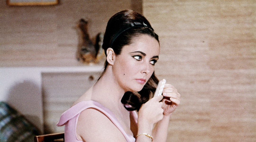 Elizabeth Taylor was an icon when it came to hair, too.