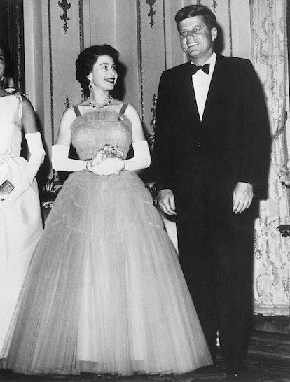 princess diana engagement ring queen elizabeth JFK