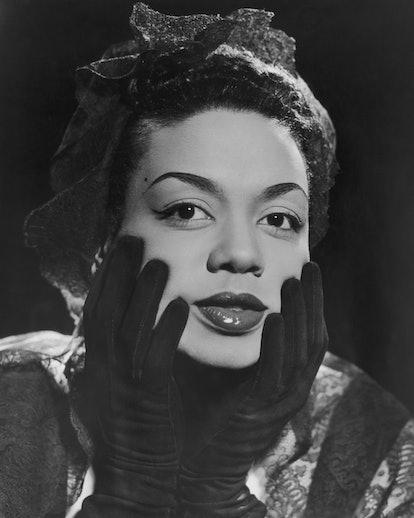 Hazel Scott was a master of gorgeous updos.
