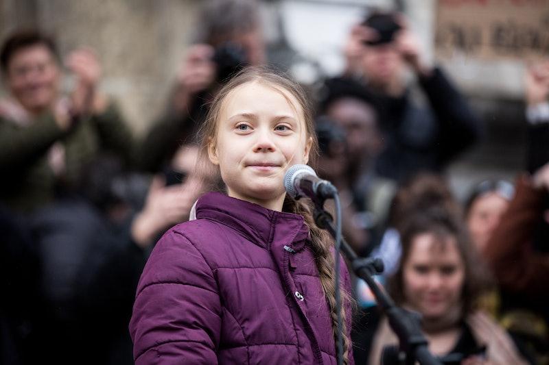 "Greta Thunberg, climate change activist, is the star of ""I Am Greta."""
